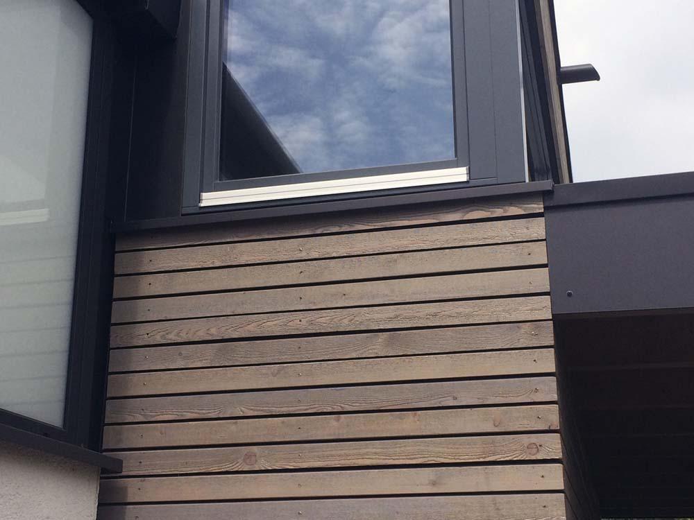 Haus P Detail Holz